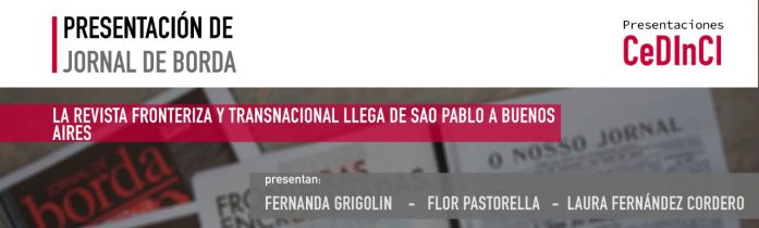 Presentación de Jornal de Borda