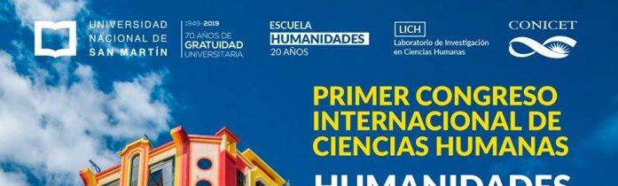El CeDInCI en el I Congreso Internacional de Ciencias Humanas