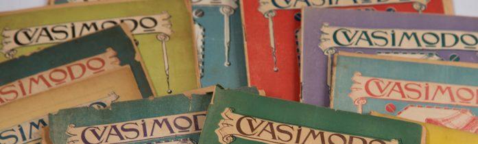 La revista Quasimodo, ya puede consultarse online en AméricaLee
