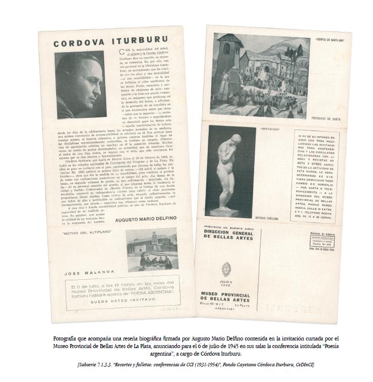Catalogación del fondo Cayetano Córdova Iturburu