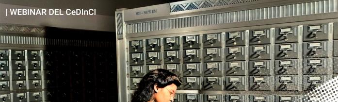 Catálogos y recursos digitales del CeDInCI: nuestro próximo Webinar