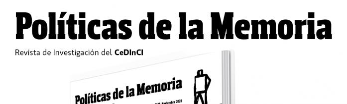 Un nuevo número de Políticas de la Memoria, la revista del CeDInCI